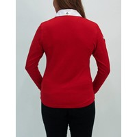 sweater JULIETA dieprood