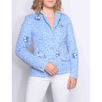 blazer AMADA II ch.blue-lav.blue