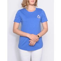 t-shirt RAEKA dazzling blue