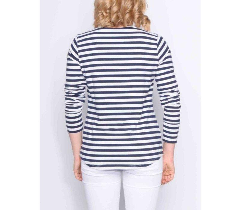 t-shirt REYA I offwhite-m.navy
