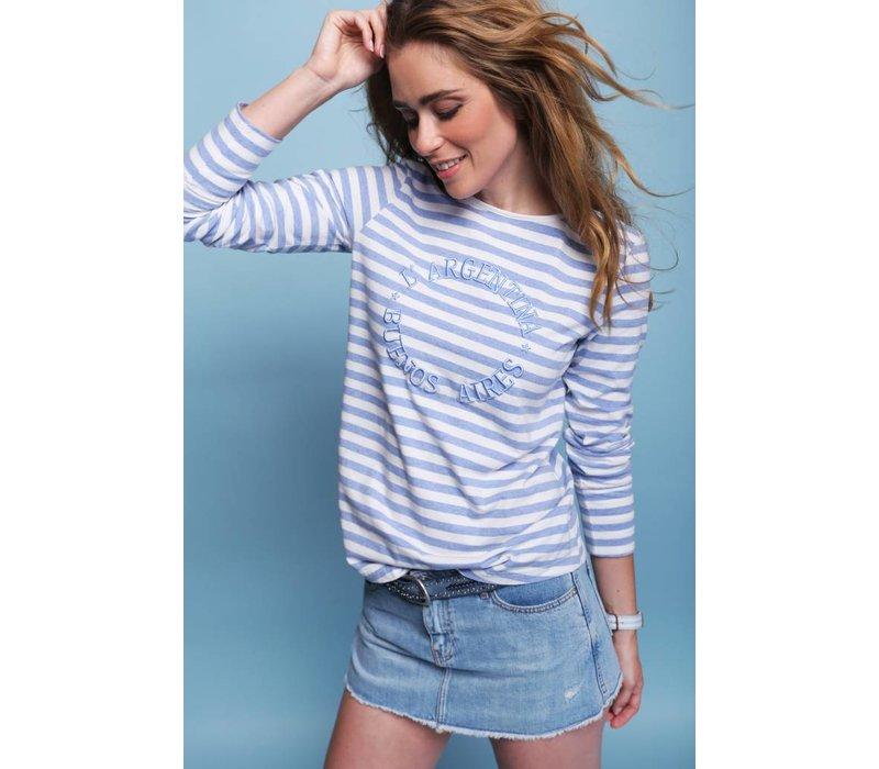t-shirt REYA I offwhite-lavendel