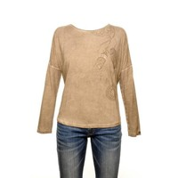 Top CRISTA taupe