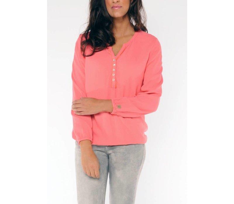 blouse SHABA V koraal