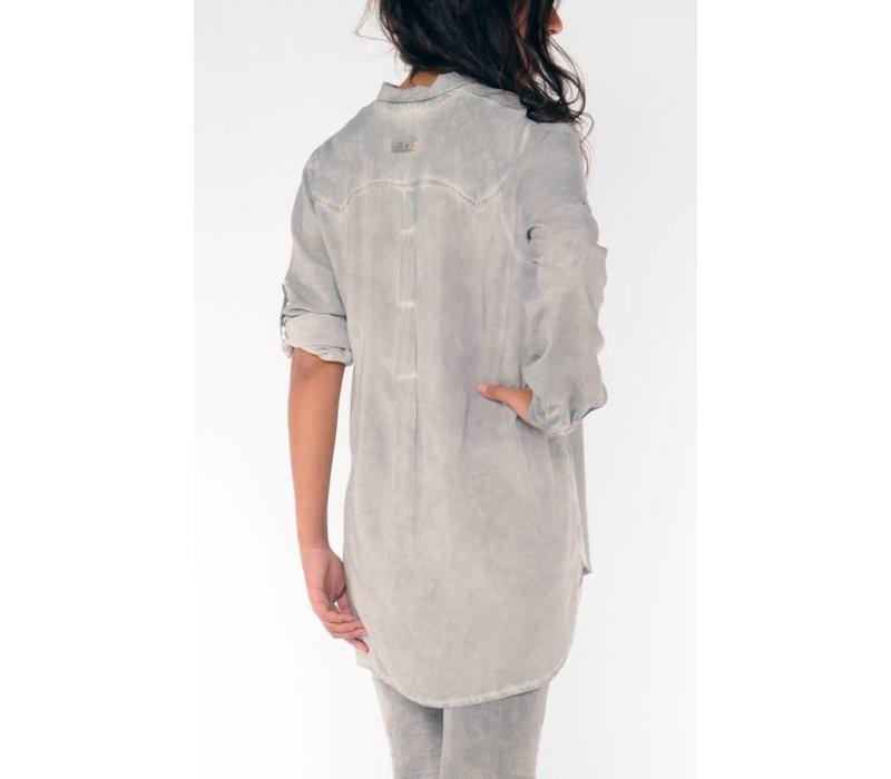 blouse SENALDA silvergrey