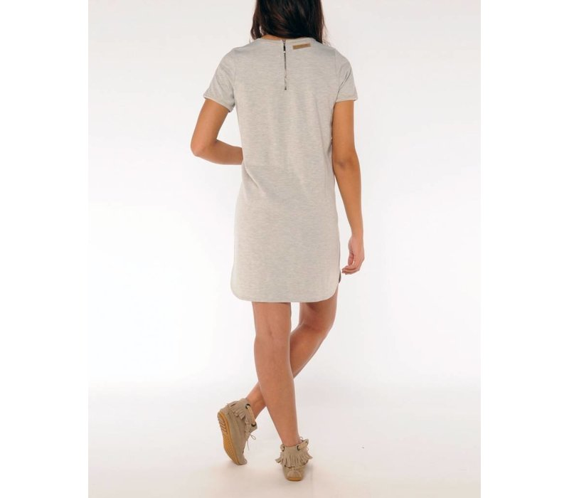 dress MODESTA silvergrey