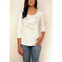 t-shirt SABANA white