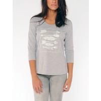 t-shirt SABANA silvergrey