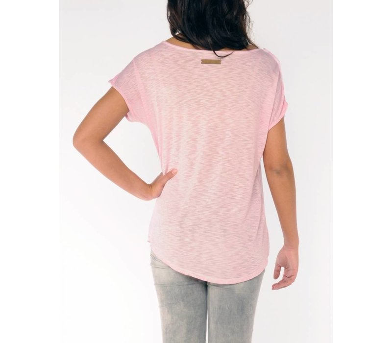 t-shirt SANCHIA rose