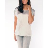 t-shirt SARAN silvergrey