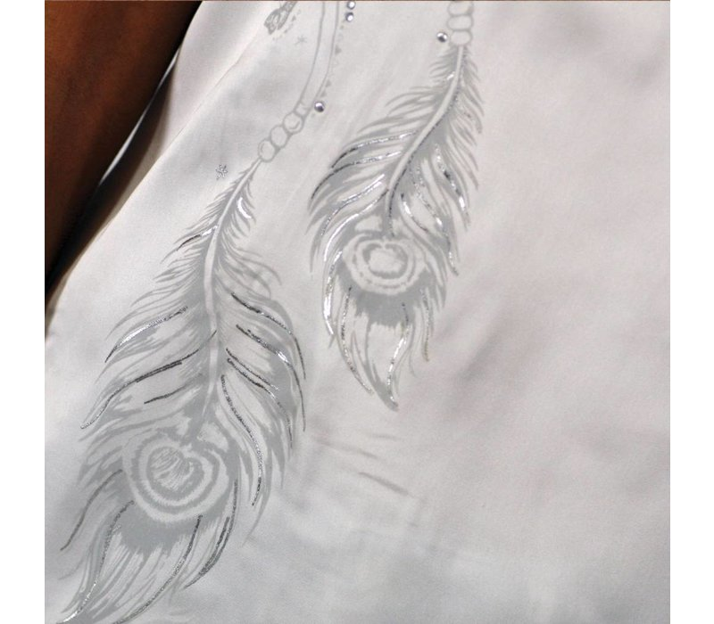 t-shirt SARAN white
