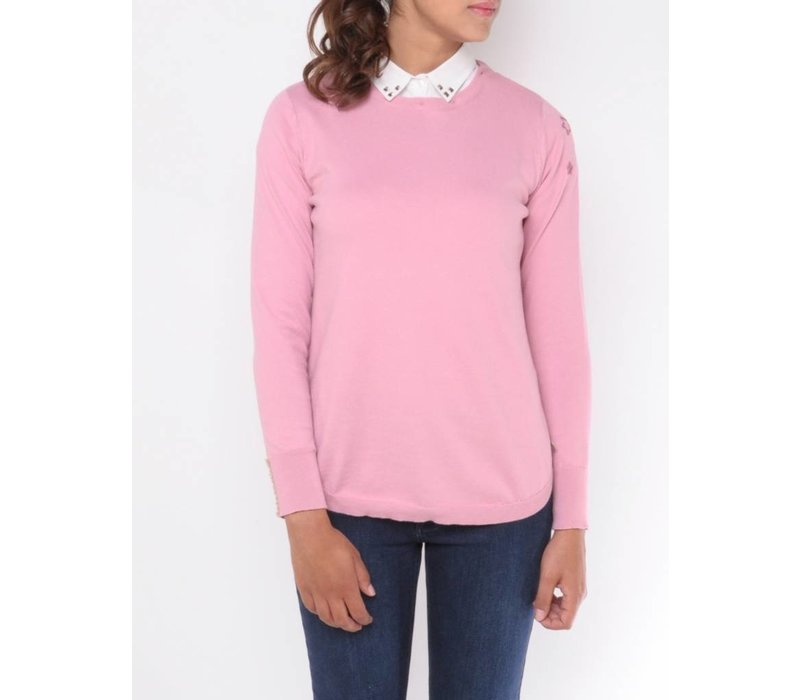 Pullover FLORENCIA rosewood