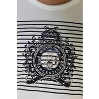 Top CELERINA offwhite-m.navy