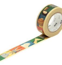 MT  MT washi tape kids dieren