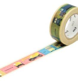 MT  MT washi tape kids vervoer