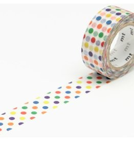 MT  MT washi tape kids kleurige dots