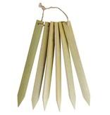 Plantenlabel set bamboe