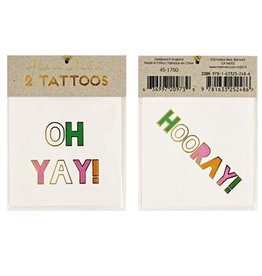 Tattoo set hooray
