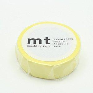 MT washi tape pastel lemon