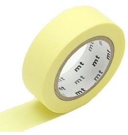 MT  MT washi tape pastel lemon