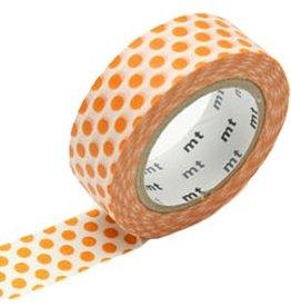 MT  MT washi tape dot mandarin