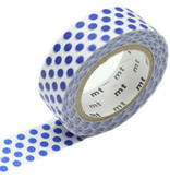 MT washi tape dot night blue