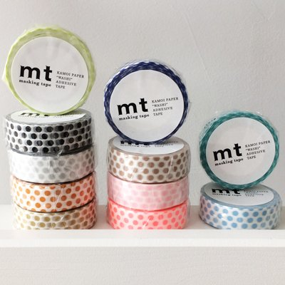 MT masking tape dot mandarin
