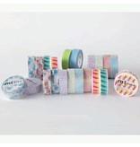 MT masking tape stripe magenta
