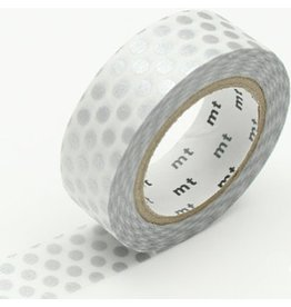 MT  MT masking tape dot silver