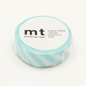 MT masking tape stripe mint blue