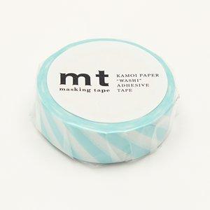 MT washi tape stripe mint blue