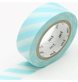 MT  MT washi tape stripe mint blue