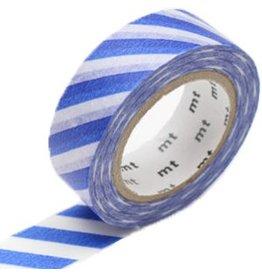 MT  MT washi tape stripe blue