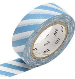 MT  MT washi tape stripe grayish sky
