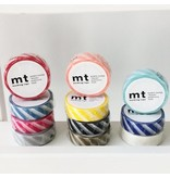 MT washi tape stripe gold 2