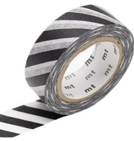 MT  MT washi tape stripe black 2
