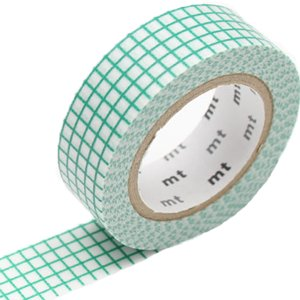 MT washi tape hougan emerald