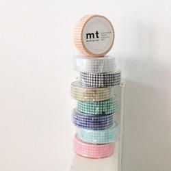 MT washi tape Hougan mint blue