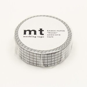 MT washi tape hougan black