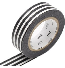 MT  MT washi tape border black