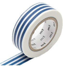 MT  MT washi tape border indigo