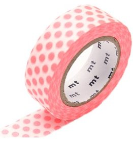 MT  MT washi tape dot shocking red
