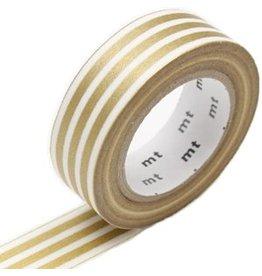 MT  MT washi tape border gold 2