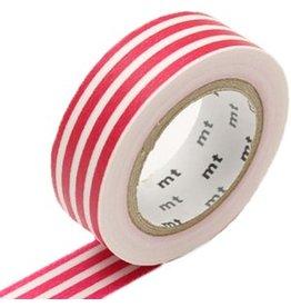 MT  MT washi tape border framboise