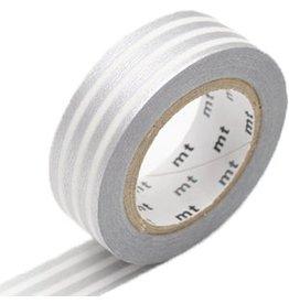 MT  MT masking tape border zilver 2