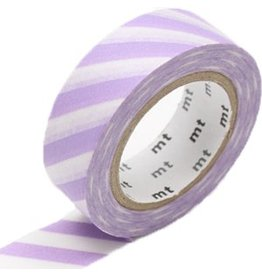 MT  MT washi tape stripe lilac