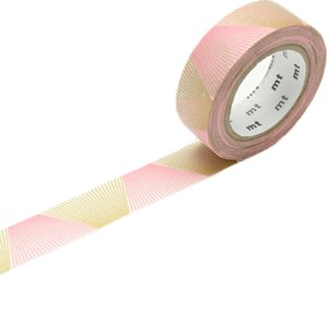 MT masking tape line gradation gold