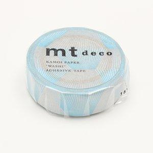 MT washi tape line gradation silver