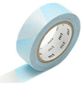 MT  MT washi tape line gradation silver