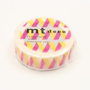 MT washi tape rickrack geel