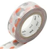 MT masking tape overlapped dot orange